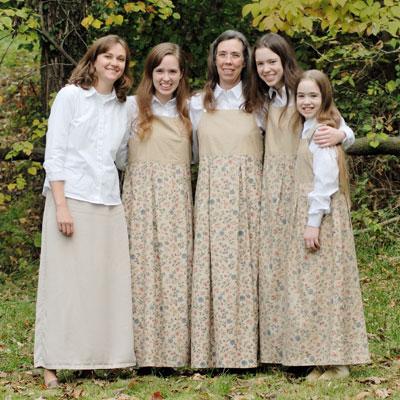Women dressing